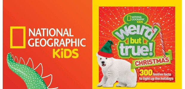 Stocking Filler From www.natgeokidsbooks.co.uk. On Amazon Here FACEBOOK | TWITTER Weird But True! Christmas Get ready to celebrate the holiday season with wacky facts, stats, titbits, and traditions about the […]