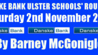 Danske Bank Ulster Schools' Round Up Saturday 2nd November 2019 Despite the fact that schools were on a well-deserved half term break a couple of games were played in the […]
