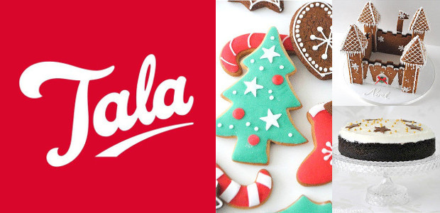Christmas Recipes from Tala! www.talacooking.com FACEBOOOK | TWITTER | PINTEREST | YOUTUBE | INSTAGRAM Christmas Recipes: Gingerbread Christmas Castle – www.talacooking.com/articles/gingerbread-christmas-castle.htm Mulled Wine Chocolate Cake – www.talacooking.com/articles/mulled-wine-chocolate-cake.htm Spiced Cookies – […]
