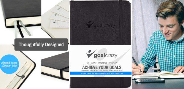 Goal Crazy Undated Planner – 90 Day Guided Journal, Weekly Organization, Productivity Habit Tracker, Inspirational, Life Setting, Black Leather, Almond Pages by Goal Crazy >> On Amazon & www.goalcrazyplanners.com TWITTER […]