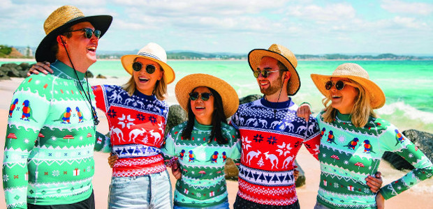 Perfect for Christmas Day pool parties, summer travel or beach days, the Ugly Xmas Rashie is a great stocking stuffer or gift for the whole family (plus they're super sun […]
