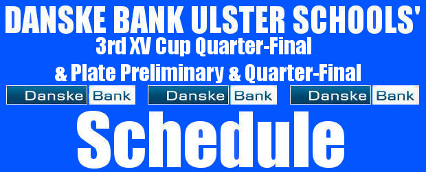 Danske Bank Ulster Schools' 3rdxv Cup Quarter-Final Draw-Plate Preliminary Round and Quarter-Final Draws Wednesday 29th January 2020 To follow INTOUCH RUGBY on Facebook CLICK HERE to Follow InTouch Schools & […]