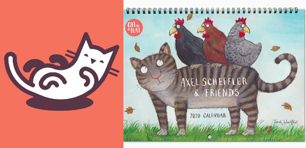 Beautiful cat-themed calendar by Axel Scheffler (illustrator of The Gruffalo) – raising money for charity www.catinaflat.com FACEBOOK | INSTAGRAM | TWITTER Cat in a Flat has teamed up with Axel […]