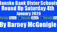 Danske Bank Ulster Schools' Round Up Saturday 4th January 2020 To follow INTOUCH RUGBY on Facebook CLICK HERE to Follow InTouch Schools & Clubs Rugby in Ulster & Lifestyle Specials […]