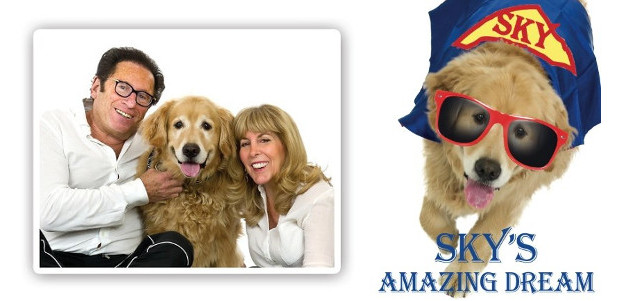 """Sky's Amazing Dream,"" a picture book by bestselling author Mark Stevens about his Golden Retriever Sky: a furry superhero who does good deeds. www.skysamazingdream.com Also available in kindle format and […]"