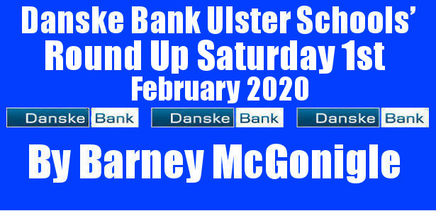 Danske Bank Ulster Schools' Round Up Saturday 1st February 2020 To follow INTOUCH RUGBY on Facebook CLICK HERE to Follow InTouch Schools & Clubs Rugby in Ulster & Lifestyle Specials […]