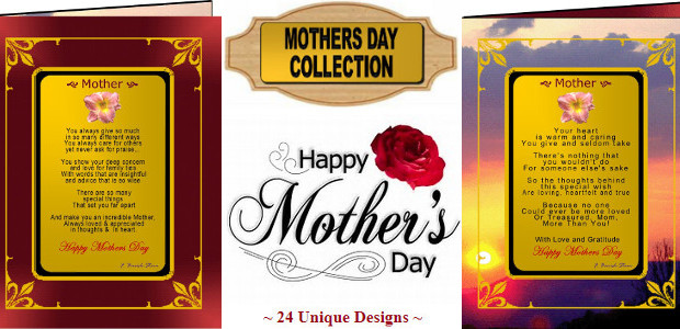 "Send an incredible poetic and gold message this Mother's Day… Lets Tell Mum that She Is Amazing And That We Love Her So Much! www.greetingsongold.com ""The World's Most Elegant Frameable […]"