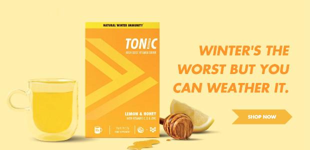 IMMUNE SYSTEM NEED BOOSTING!? Tonic Health Lemon & Ginger www.tonichealth.co £5.99 for 10 sachets! + Ginger. + Dextromethorphan. + Vitamin C. + Vitamin D + Zinc ! Tonic Health Lemon […]