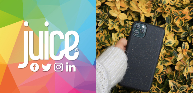 Just launched! 100% compostable phone case from juice® mobile phone accessories! These make great Mother's Day gifts and they are kind to the our planet, which we are all striving […]