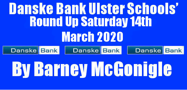 Danske Bank Ulster Schools' Round Up Saturday 14th March 2020 To follow INTOUCH RUGBY on Facebook CLICK HERE to Follow InTouch Schools & Clubs Rugby in Ulster & Lifestyle Specials […]