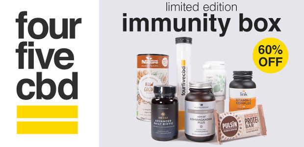'The Immunity Box' by fourfivecbd: immune boosting products delivered to your door… Available for £39.99 (items bought individually would retail at £99.00) from www.fourfivecbd.co.uk INSTAGRAM | FACEBOOK | TWITTER – […]