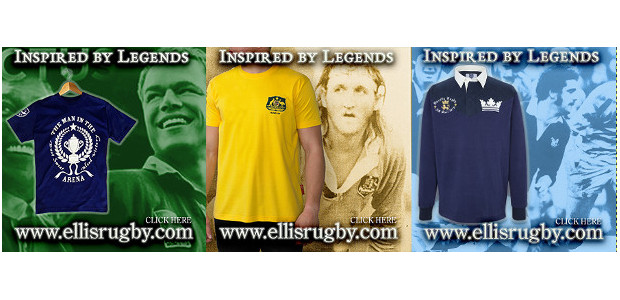 Inspired By Rugby Legends CLASSIC RUGBY UNION & RUGBY LEAGUE by ELLIS RUGBY . www.ellisrugby.com . A Pride In The Jersey Company.