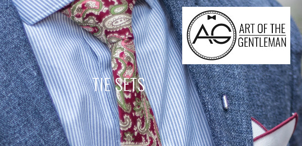 Art of The Gentleman www.artofthegent.com Tie Sets which are such a great gift for Father's Day :- There are several reasons for this for example 1. Their combinations appeal not […]