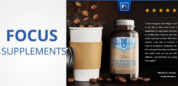 Why Not Improve Your focus & Concentration! Focus Supplements Caffeine & L-Theanine Supplement… increasing focus and stamina yes but also no side effects ! Interesting Chemical Combination >> See more […]