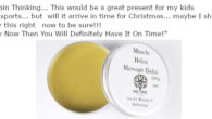The Muscle Relax Massage Balm|Reflexology Balm is ideal for body massage, Reflexology, Myo-fascial Release and Indian head massage. The massage balm melts in contact with the skin. AMAZON VOUCHER >>> […]