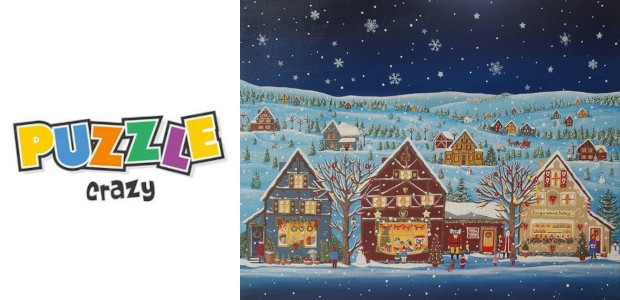 Puzzle Crazy…. Look At This Little Christmas Scene… Ginger Bread Houses??? Lets get in the mood… do it all again! www.puzzlecrazy.co.uk FACEBOOK Puzzle Crazy are a small puzzle company that […]