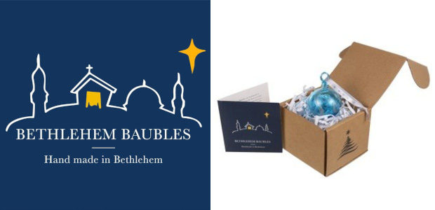 Christmas from Bethlehem…….. www.bethlehembaubles.com Facebook Ideal as gifts or for your own celebrations, these beautiful Christmas baubles are each individually hand-blown in the glass workshops of Hebron, a centre for […]