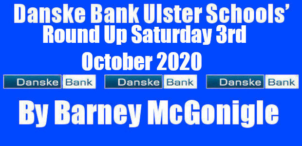 Danske Bank Ulster Schools' Round Up Saturday 3rd October 2020 With all participating schools having completed their Return to Play protocols five games at 1stxv level took place on Saturday […]