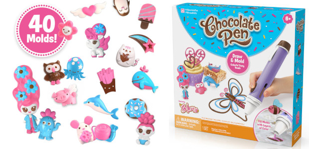 Get Creative with the New Chocolate Pen! From Skyrocket Toys. Get creative and craft tasty treats in chocolate with the Chocolate Pen from Skyrocket Toys! The Chocolate Pen allows you […]