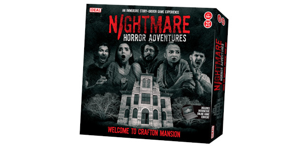 BRING YOUR NIGHTMARES TO LIFE WITH NIGHTMARE HORROR ADVENTURES EXPERIENCE THE CHILLS AND THRILLS OF THE CLASSIC HAUNTED HOUSE STORY 16+ www.nightmarehorrorgame.com Welcome to Crafton Manor… Experience the haunted house […]