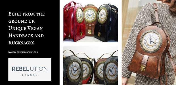 Rebelution London… A new range of unique handbags and rucksacks with clock faces beautifully worked into them has launched  www.rebelutionlondon.com Rebelution London are a newly formed, innovative business that design […]