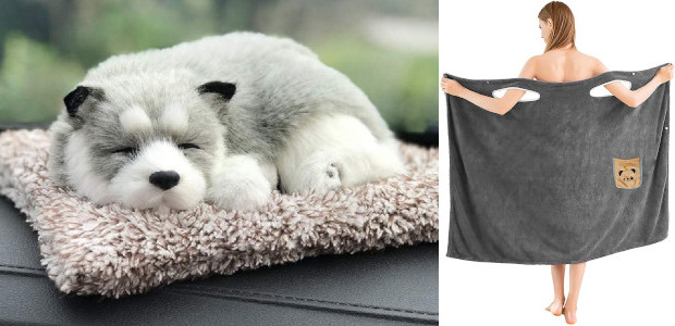 Car Air Purifier, Activated Carbon Dog Plush, Decoration Sleeping Puppy Car Air Freshener, Odor Absorber Natural Air Purifiers for Car, Home, Office See more and buy at :- www.amazon.com/dp/B088QDD28F?ref=myi_title_dp ✅PREMIUM […]