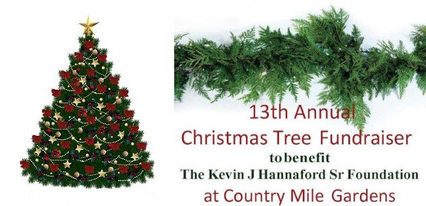 The 13th Annual Christmas Tree Fundraiser to benefit the Kevin J. Hannaford, Sr. Foundation will be held at the Country Mile Gardens on December 5th and 6th $10 will be […]