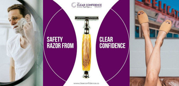 Unisex and perfect for Valentine's >> Bamboo Razors from Clear Confidence www.clearconfidence.co These products are suitable for both men and women (especially their bamboo razor). All their products are vegan […]