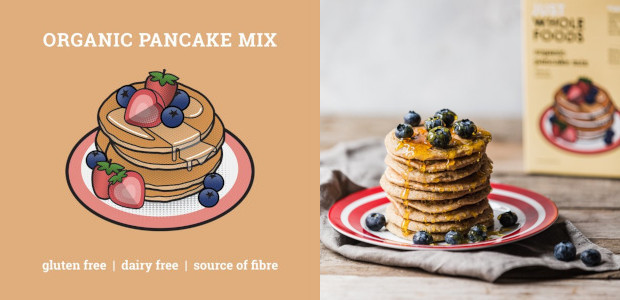 Just Wholefoods New Pancake Mixes | justwholefoods.co.uk Both mixes are gluten free, plant-based, a great source of fibre, they are so nutritious, made with all natural ingredients, take just a […]