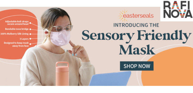 Rafi Nova Launches Sensory-Friendly Mask Designed in Partnership with Easterseals Southern California… rafinova.com/pages/face-mask Fashion brand Rafi Nova teams up with leading disability service provider Easterseals Southern California to create face […]