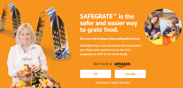 No more cutting yourself in the kitchen! Unique new kitchen gadget for Mother's Day Gifting & Anyone In the Kitchen… safegrate.ca one-size-fits-all Have you or do you know someone who […]