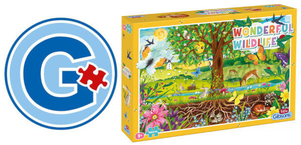 For Easter how about for younger children the new Wonderful Wildlife Puzzle: from Gibsons, from their Little Gibsons collection. www.gibsonsgames.co.uk This NEW 100 piece puzzle is just the trick for […]