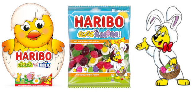 Eggs Galore and other Treats from HARIBO this Easter… www.haribo.co.uk HARIBO Eggs Galore A cracking treat in the run-up to Easter, Eggs Galore is fun, themed and delicious. Featuring a […]