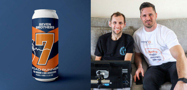 """ROADRUNNER"" RUGBY PLAYER ROB BURROW LAUNCHES CHARITY BEER WITH SEVEN BRO7HERS… www.sevenbro7hers.com SEVEN BRO7HERS BREWING CO has teamed up with rugby league legend Rob Burrow to launch a limited-edition charity […]"