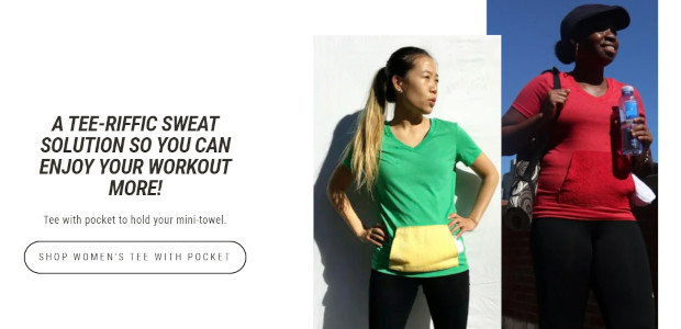 Sweaty Tee Mother's day gift guide idea The Sweat Relief Company, makes unique tee shirts for men and women that incorporate mini-towels to remove annoying sweat during workouts. This Tee […]