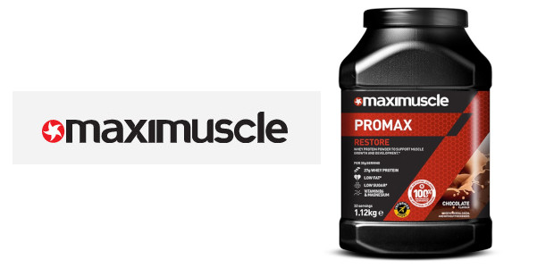 """Maximuscle Protein Shake Range…. """"It's fantastic… & along with their delicious protein bars and handy protein milk shake I'm perfectly set up to keep my protein uptake up no matter […]"""