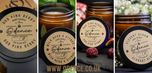 """""""Odence vegan-friendly, cruelty-free, hand-poured, soy wax blend candles, are delicately, meticulously & lovingly decanted in the heart of County Armagh, Northern Ireland, close to the shores of Lough Neagh. See […]"""