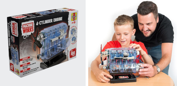 Win Machine Works Haynes 4 Cylinder Engine to celebrate Father's Day. The Machine Works Haynes 4 Cylinder Engine is a fantastic kit for fathers and children to spend some fun […]