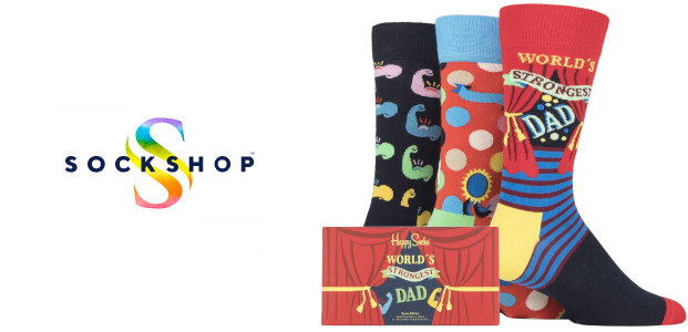 FATHERS DAY GIFT BOXED COTTON SOCKS See more and buy at :- www.sockshop.co.uk/products/mens-3-pair-happy-socks-fathers-day-gift-boxed-cottons-socks RRP: £29.99/$44.99 Can't think of a gift for your dad this fathers' day? We've got you (and […]