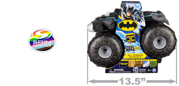 What Not to Like…!!!?? This is such a winner because kids LOVE BATMAN right???? ITS THE SPINMASTER ALL TERRAIN BATMOBILE WOWZZZZZZEERRRRRRRSSSSSSSS BATMAN 1:15 All Terrain Batmobile £59.99 See more at […]