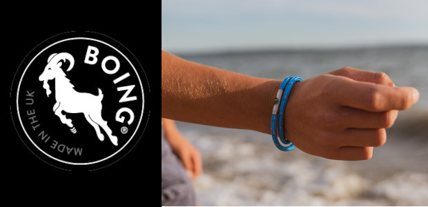 BOING® Bracelets are inspired by extreme sports & the great outdoors. Made using climbing, sailing & leather ropes. www.boingjewellery.com INSTA & TWITTER @BOINGJewellery