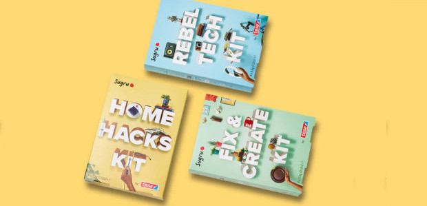 Sugru Starter Kits for DIY Cool Cats 35 projects and plenty of Sugru packed into three fresh DIY kits Looking for a gift that keeps on giving? Delight your nearest […]