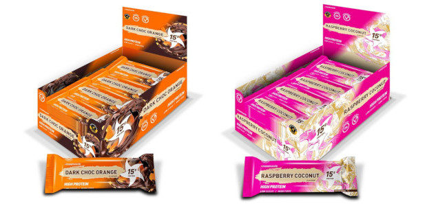 """2 NEW FLAVOURS >>> Just Released Maximuscle Protein Bar in Raspberry and Coconut, Dark Choc Orange See more at :- https://www.maximuscle.com/type/protein/bars/Maximuscle-Protein-Bars-12-Pack-45g/ """"two awesome new flavours of MAXIMUSCLE Protein Bar have […]"""