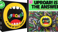 UpRoar – A Game of Silly Sounds – Fun Family Card Game (by McMiller entertainment) SIMPLE. FUNNY. UPROARIOUS. If you can read, you can play. Perfect for anyone who likes […]
