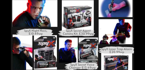 With Bond fever sweeping the nation, we have the perfect gadgets for young agents on a mission. With real working features, the SpyX toys come straight out of Q's toolbox. […]