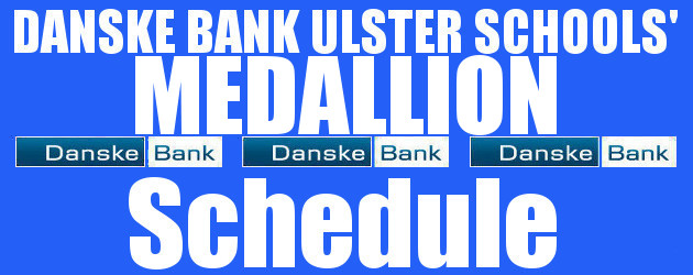 Danske Bank Ulster Schools' Medallion Shield Rounds 1&2 Draws 22nd October 2021 The draws for the first and second rounds of the Danske Bank Ulster Schools' Medallion Shield competition took […]
