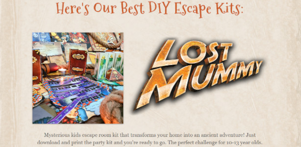 """Lock Papaer Scissors multi-step puzzle games teaching patience… Hugh Halloween Hits >> & """"Lost Mummy"""" + """"Envy"""" www.lockpaperscissors.co Escape Game Room Kit. Escape game is a multi-step puzzle that teaches […]"""