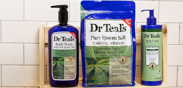 Soothe away the aches….. relax and de-stress …..Dr Teals Pure Epsom Salt Soaking Solution with Hemp Seed Oil 1.36kg drteals.com Dr Teal's Epsom Salt Soaking Solution combines Pure Epsom Salt […]